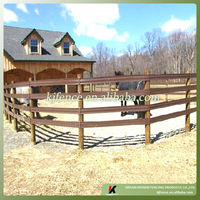 Flexible plastic tape rail paddock horse fence with wire insert black,white,brown and grey color