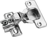 High quality iron door hinge short arm hinge with strong spring