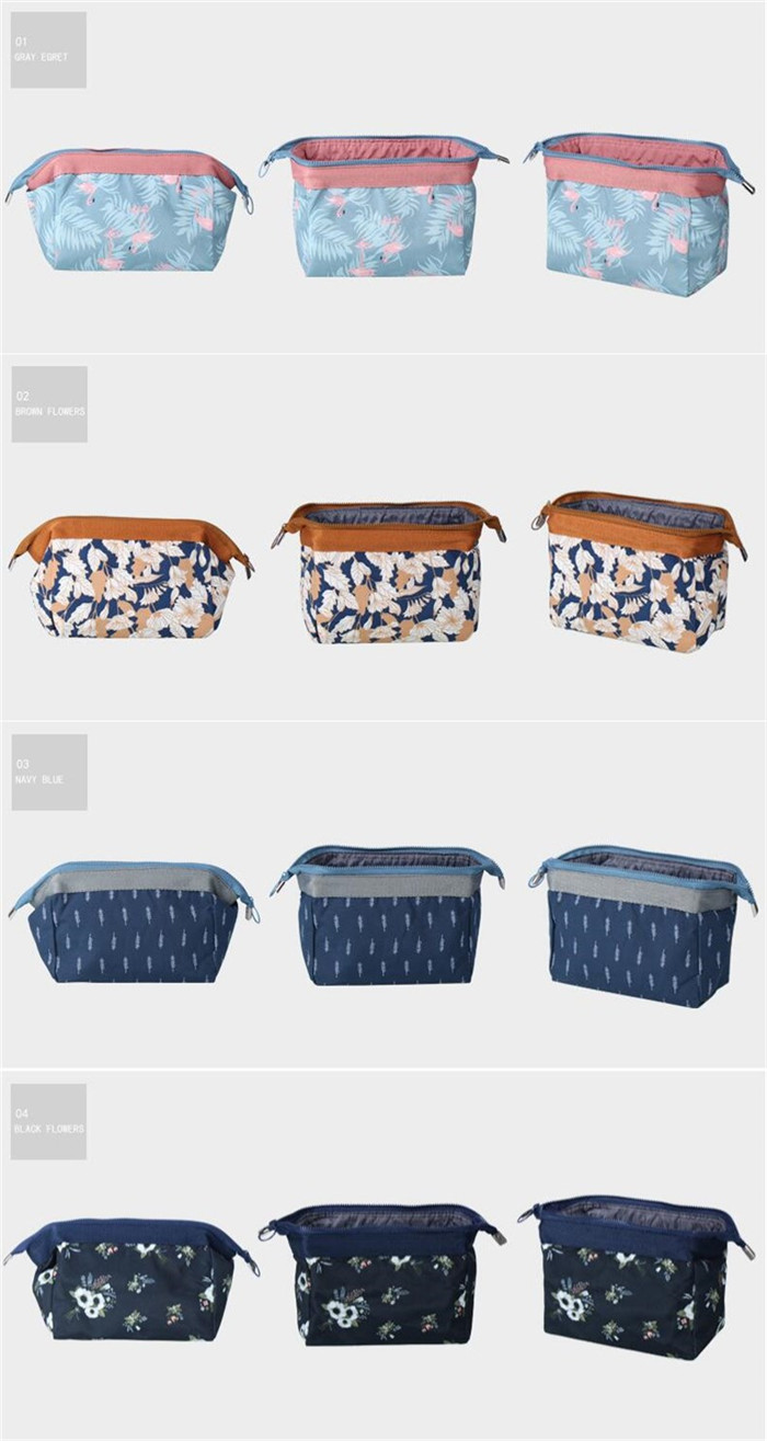 Promotional eco-friendly cosmetic bag ladies travel makeup bag