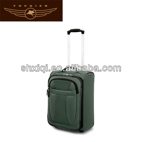 2 wheels polyester luggages trolleys expensive luggage