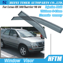 Top quality rain shield air deflector bug shield for Lexus RX 300 harrier 98-04