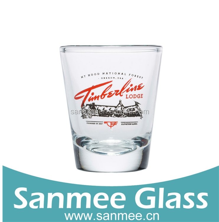 Promotional Glassware Personalized Shot Glass Cup28ml Wholesale