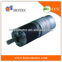 high precision 36mm dia planetary gearhead reversible brushed dc geared motor 3nm 100rpm 24vdc