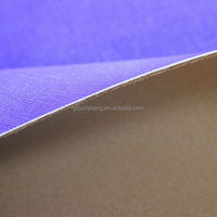 Waxy PU leather material for bag and sofa usage with soft hand feeling
