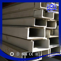 Wide Application Mild Steel C Channel Size / Cold Rolled Stainless Steel U-Channels, Channel Bar