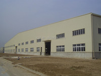 China made Professional prefabricated steel structure warehouse