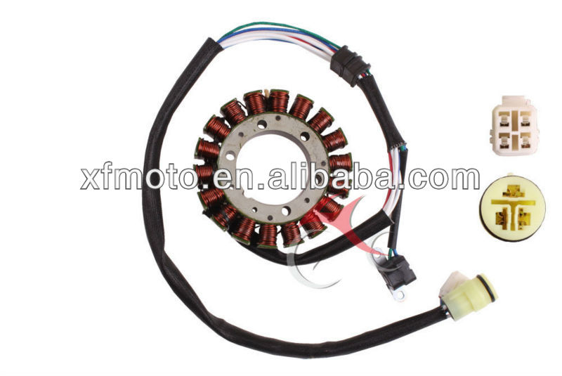 Motorcycle Stator/Magneto Coil Stators for Yamaha ATV Warrior 350 YFM350 02-04 Magneto Motorcycle Parts New
