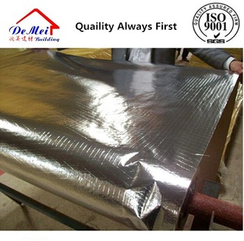 FSK Glaswool facing kraft paper adhesive aluminum foil with fire retardant coating
