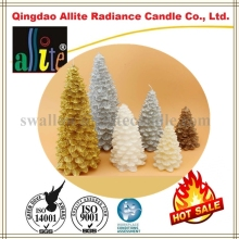 paraffin wax Christmas shape car candles
