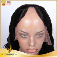 Heavy Density For Women Modern Human Natural Wave U Part Wig