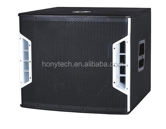 "2 way full range speaker line array outdoor dual 18"" professional speaker box design"