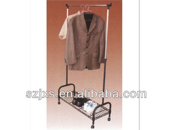 Metal mobile and multi-purpose clothes hanger