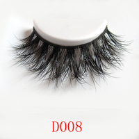 Wholesale Factory Price New Arrival High Quality Natural 100% Real Mink False Eyelashes
