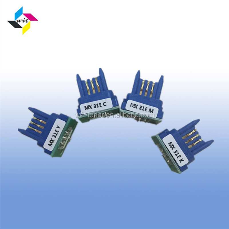 Compatible for MX31E toner chip , MX-2600N/3100N/MX-2601N/3101N