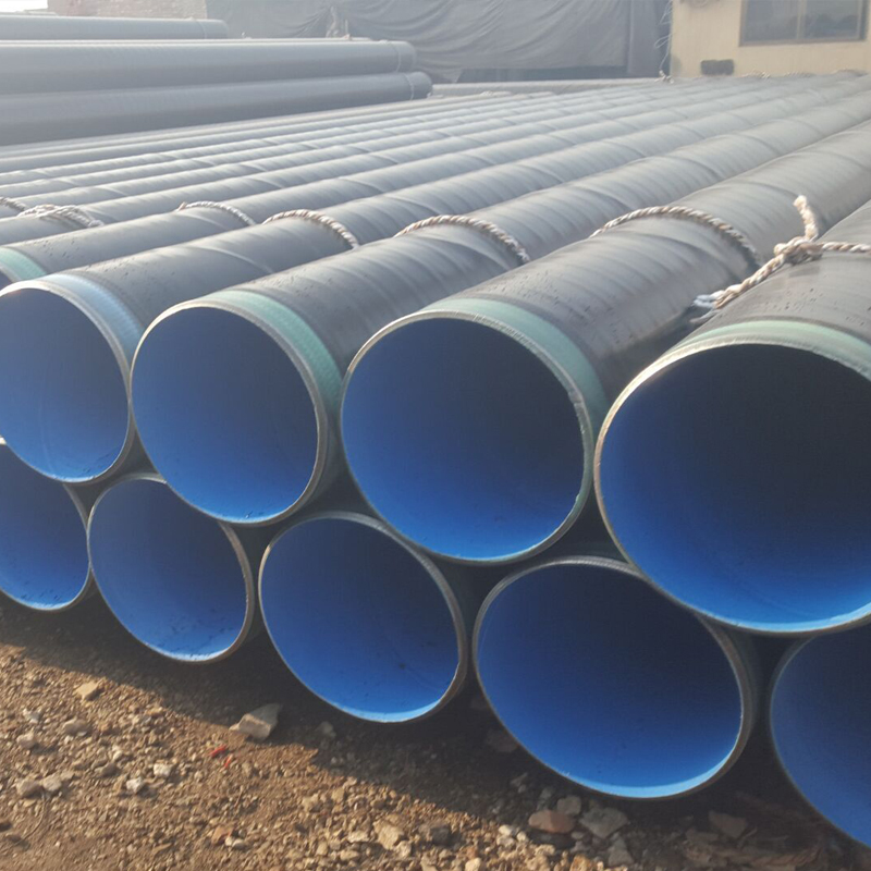 API 5L SSAW Sprial Welded Polyethylene Coated Steel Pipe 3PE Lined anti corrosion Steel Pipes for Water