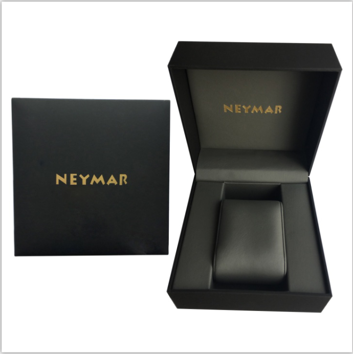NEYMAR Two Tone Silver/Gold Diver 30ATM Diving Watch Gold Dial Gold Hands