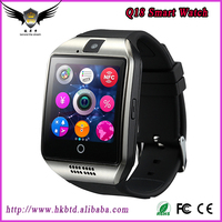 2016 New Product Android Smart Watch Q18 Curved Bluetooth Smart Watch NFC/Camera/SIM For iOS/Android Samsung iPhone