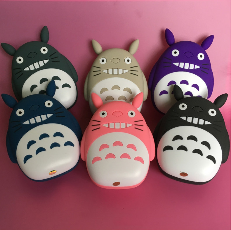 Shenzhen produce the wallet charger 6000mAh Totoro smart power bank