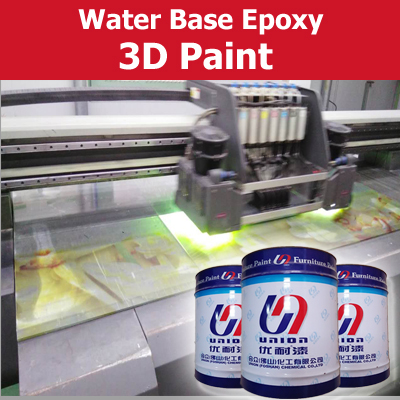 3D epoxy paint for glass paint by using printer machinery
