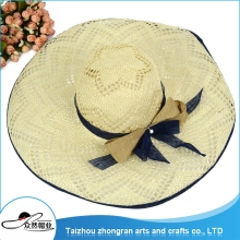 Directly Manufacture Best Quality Sun Shade Cap Straw Hats For Women