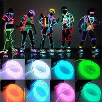 Sexy and fashionable el wire clothes/LED Clothes/EL Wire Clothes