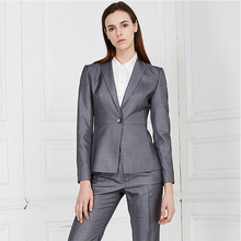 Custom Western Formal Office Wear Ladies Office Work Suit