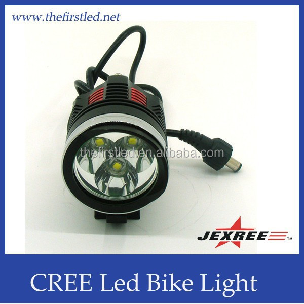 JEXREE Super Power Rechargeable T6 CREE LED Bike Light