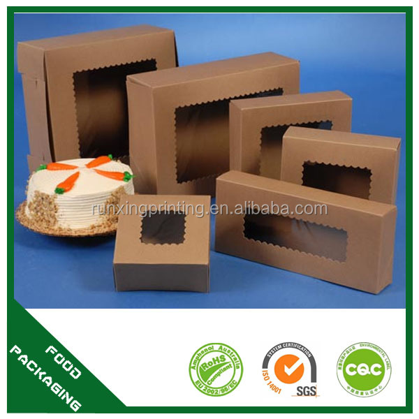 wholesale customized print paper donuts packaging