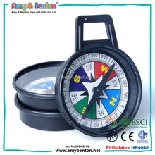 mini plastic small magnetic compass toys