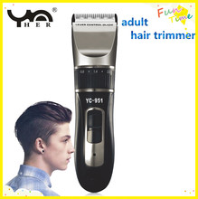 Professional hot popular high quality adjustable control electric rechargeable adult hair trimmer