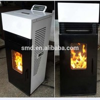 CE Approve Smartmak wood burning stoves with oven,freestanding smokeless wood fireplace