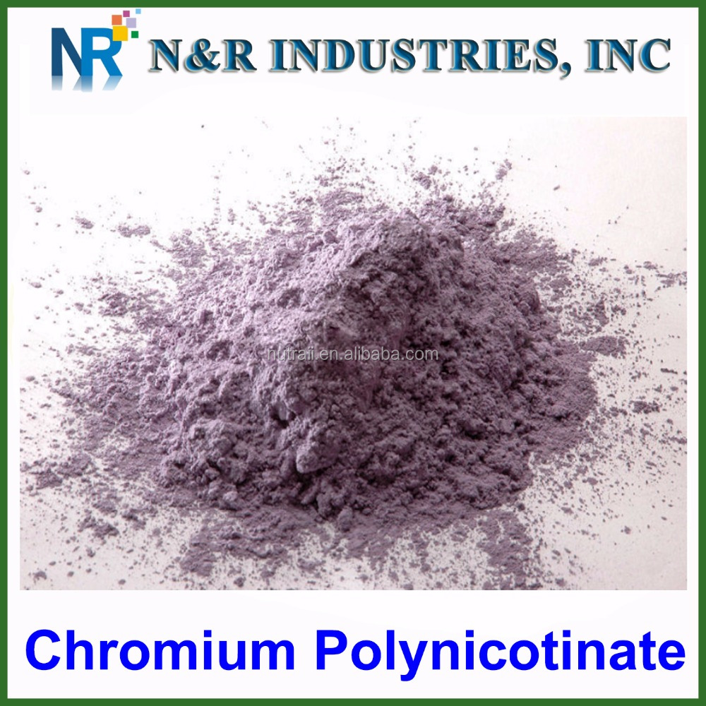 Door to door price bulk chromium nicotinate powder for feed additive/ chromium nicotinate