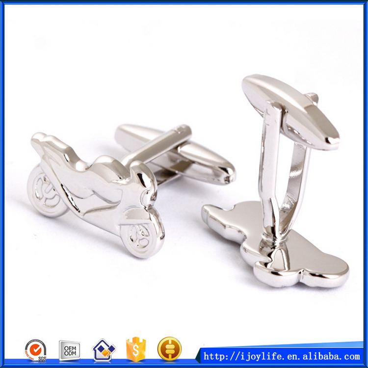 Cheap professional racing motorcycle cufflinks