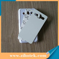 DIY sublimation phone cases for Samsung Core 2 G3558 with sublimation aluminum inserts
