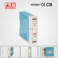 mdr 10w 12v din rail ac/dc switching power supply with CE approved MDR-10-12