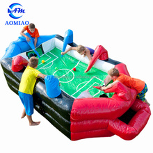 New design inflatable sport game inflatable human foosball for sale