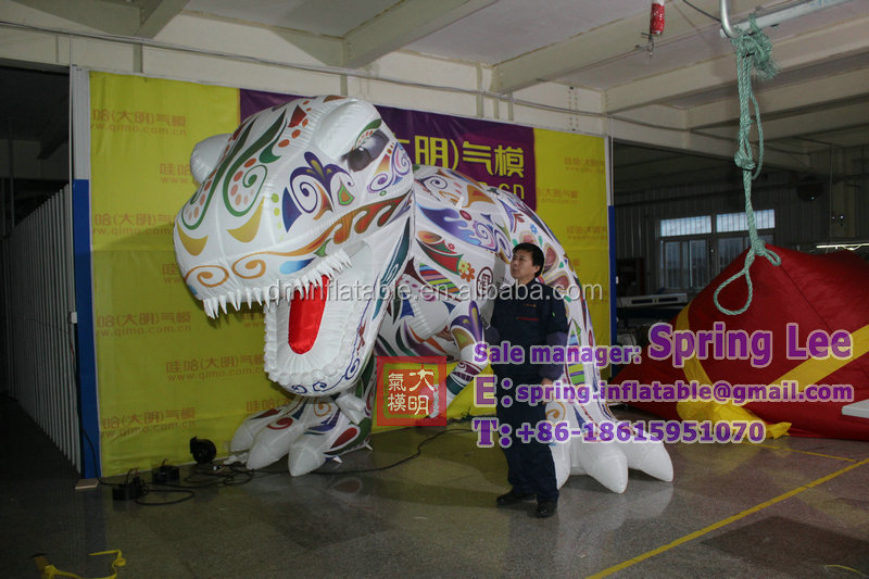 inflatable art dargon, inflatable T.rex , customized inflatable Tyrannosaurus LCK-178
