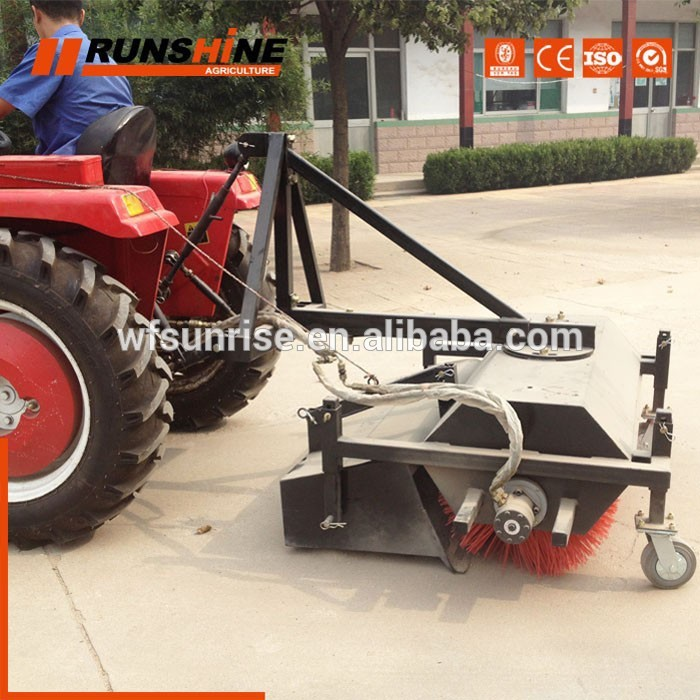 Top Chinese Manufacturer Small Tractor Street Sweeper