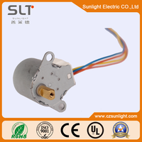 Pm Variable Reluctance Stepper Motor with Gear-box