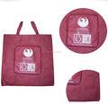 folding recyclable non woven shopping bag