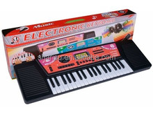 Musical Instrument 37 key multi-function electronic organ with a microphone with USD interface
