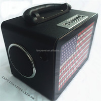 Built-in Rechargeable Wireless Super Bass mini Bluetooth Music Amplifier horn Speakers For Party
