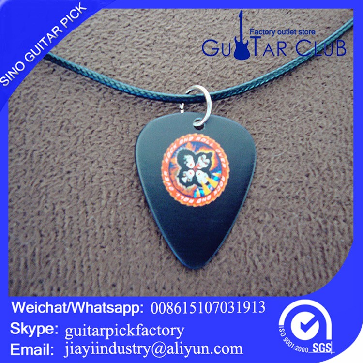 Colorful Celluloid Guitar Picks necklace jewelries women