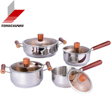 Top Quality stainless steel cookware pot handle