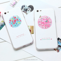 citycase real flowers wholesale water proof phone case for iPhone6plus