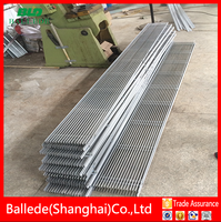 floor grille aluminum anodized linear bar grille