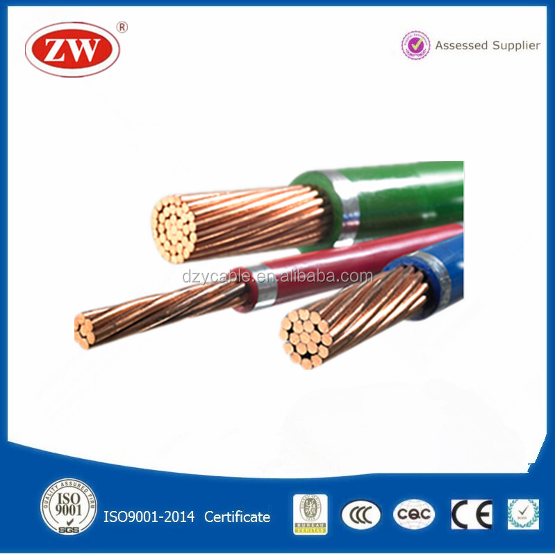 Copper PVC Industrial HS Code for Power Cable