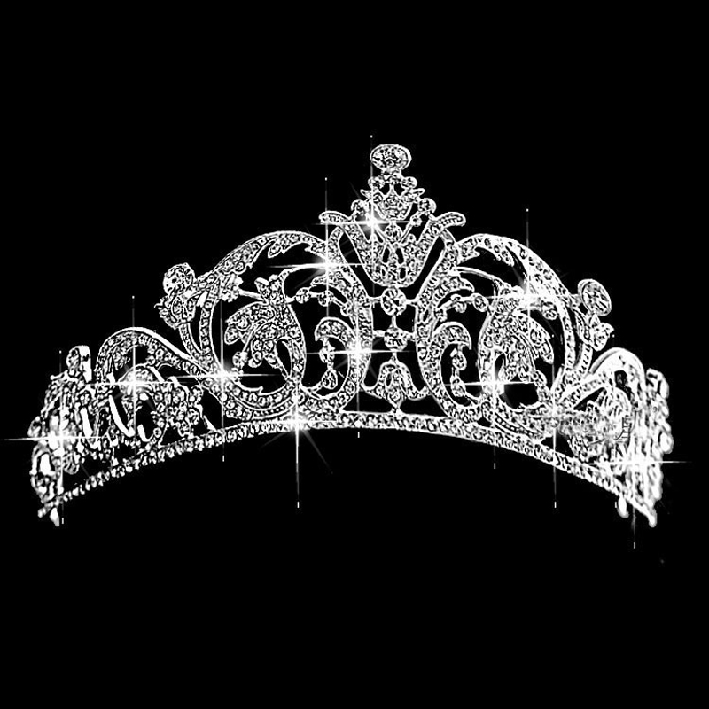 Europe and the United States High-end Luxury Diamond <strong>Crown</strong> For Bride Wedding Diamond Headband Baroque Hair <strong>Crown</strong> Bride Headdress