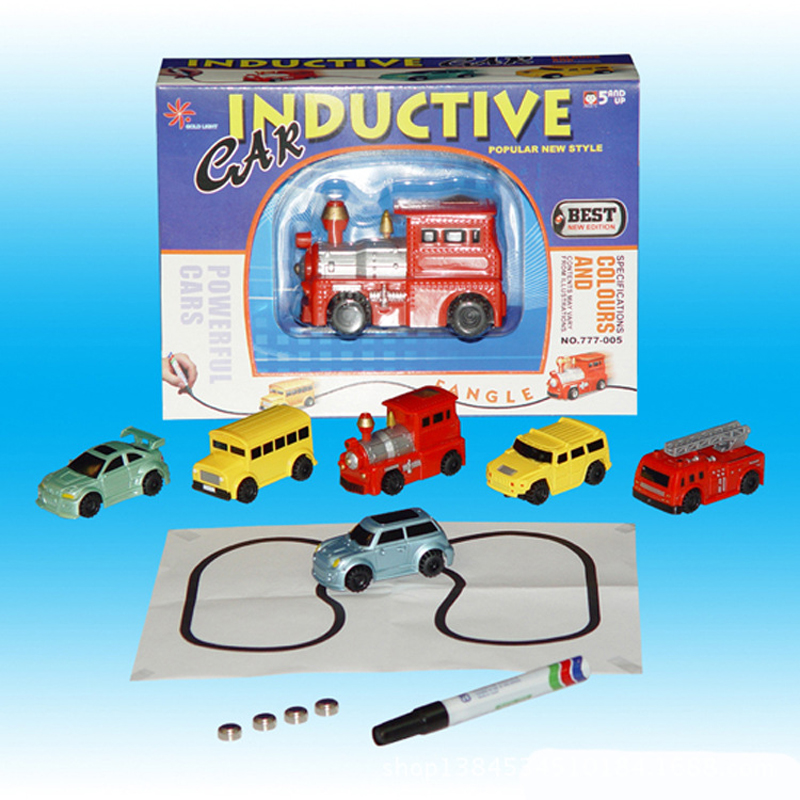 Pen Inductive Magic Tank Truck Car Toys