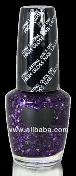 Scandal Heart Nail Polish # 63 Purple Dia Scandal Cosmetics